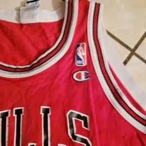 Vintage Champion Michael Jordan Bulls Jersey